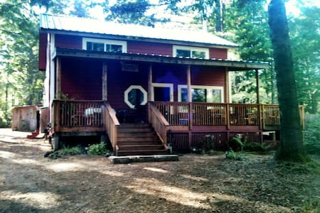 Lrg Secluded home in Redwoods - Gualala