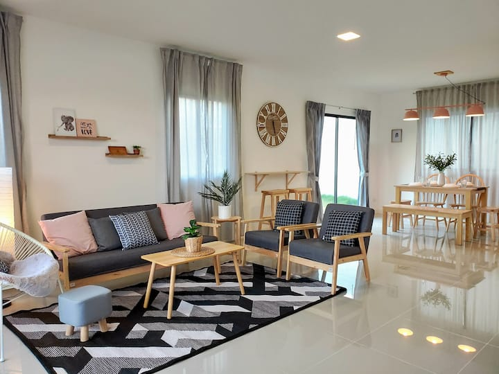 3BR Cozy Family Home for 7-8ppl