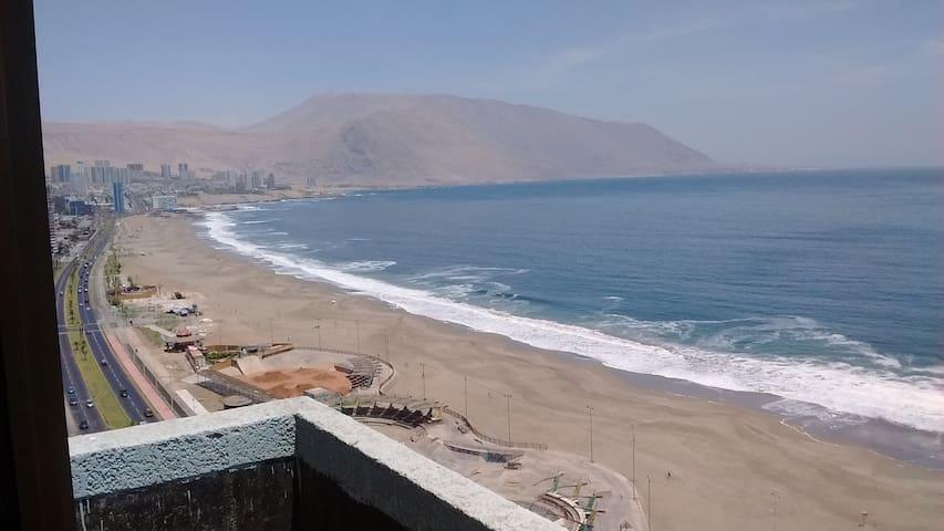 Depto. Edif. Altos del Parque Frente a Playa - Iquique