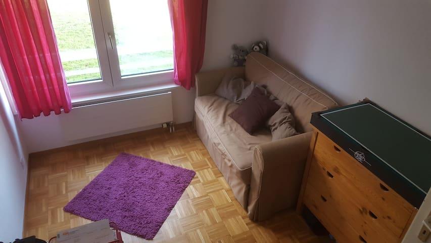 Chambre privée proche Morges 5 min gare (bus) - Tolochenaz