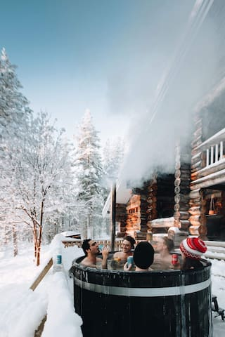 Villa Iglu Resort Ruka,Kuusamo Breakfast&Wifi incl