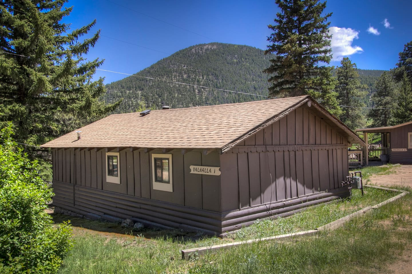 man rentals rental side sauna colorado cabins private on tub more cabin bed short mountain park hot estes vacation usa river pool term heated