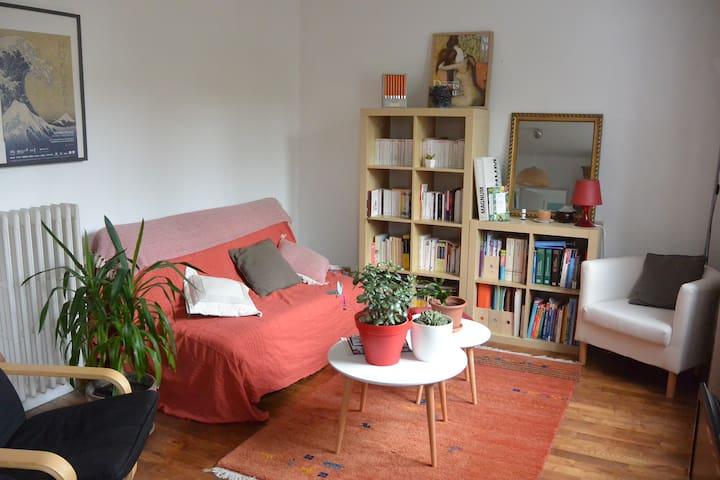 Appartement au calme, à 5 min de la gare à pied. - Rennes - Appartement