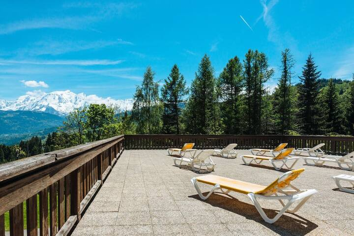 Surprising 360 ° view of Mont Blanc! # GC5A
