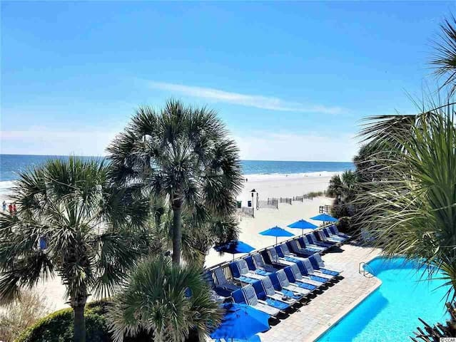 Ocean Front Condo In Myrtle Beach For Six Guests!