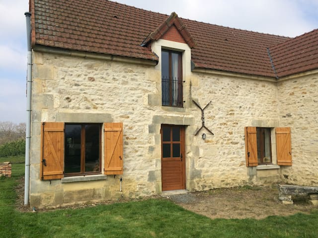 Converted barn in rural location - La Berthenoux - Ev