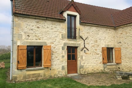 Converted barn in rural location - House