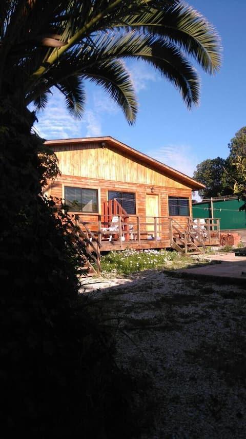 Cómoda y linda cabaña en Maitencillo.