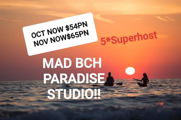 MAD BCH PARADISE STUDIO*OCT$54PN*NOV$65PN
