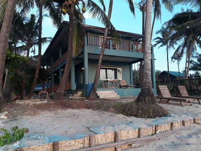 Beach house at Kyway Chiang , Gwa  Beach front