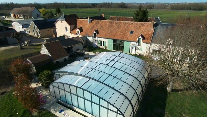 Chambre d'hôtes à proximité du zoo parc de Beauval - Couffy - Guesthouse