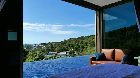 Luxury Seaview Villa at Naithon