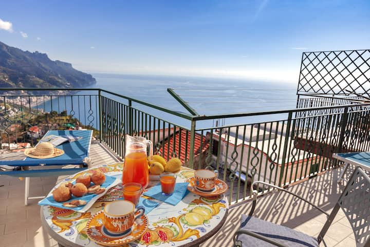 Residenza Rosalia 2 with Sea View, Private Terraces and Air Conditioning