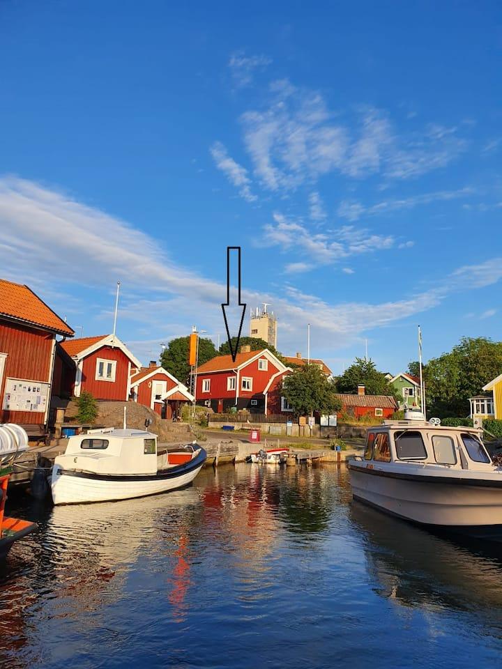 Hus med havsutsikt på Landsort Stockholms skärgård