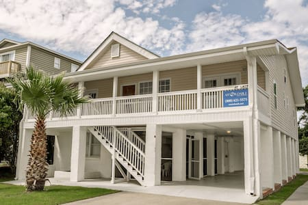Free Golf Cart Large Garden City House and a Private 1 Bed Apartment - Murrells Inlet - House