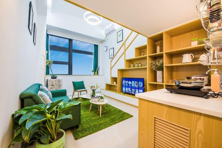 厦门-优家假日 新房特惠  1号短租民宿公寓 BRT沿线复式 - Xiamen - Apartmen