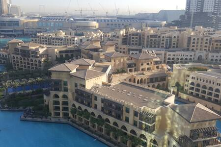 Spacious & central apartment, near Burj Khalifa - Dubai