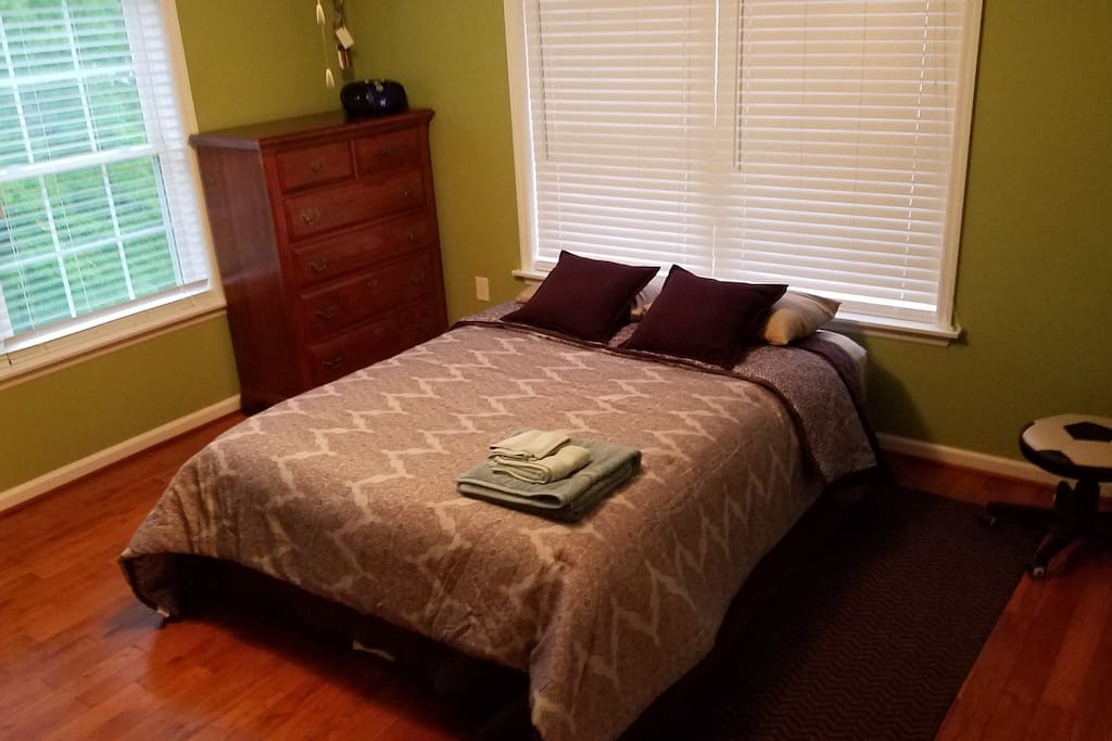 Spacious Private room w/brand new Sealy Perfect Sleeper Mattress