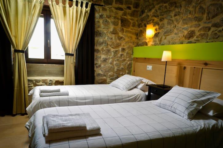 Habitación dos camas individuales