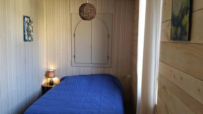 Saphir, chambre double dans gîte en Cévennes