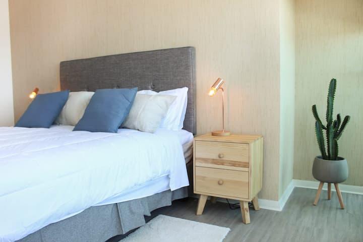 Espectacular Departamento Nuevo de 1 Dorm. en mejor proyecto de Antofagasta. Servicio HOM (1008)