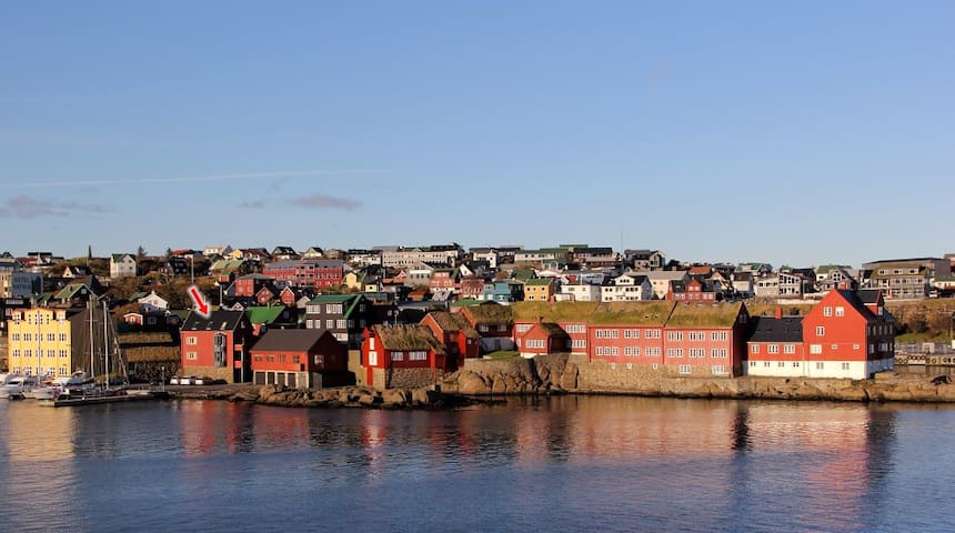 City centre location/harbour view - Tórshavn - Leilighet