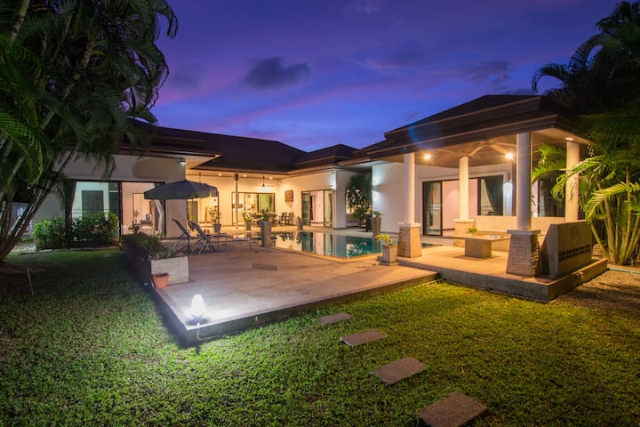Exquise Villa, piscine privée, 3 chambres, Rawai
