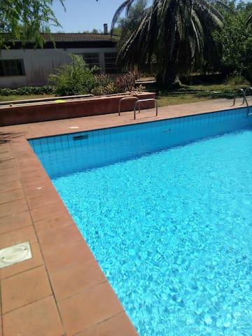 Appartamento immerso nel verde con piscina