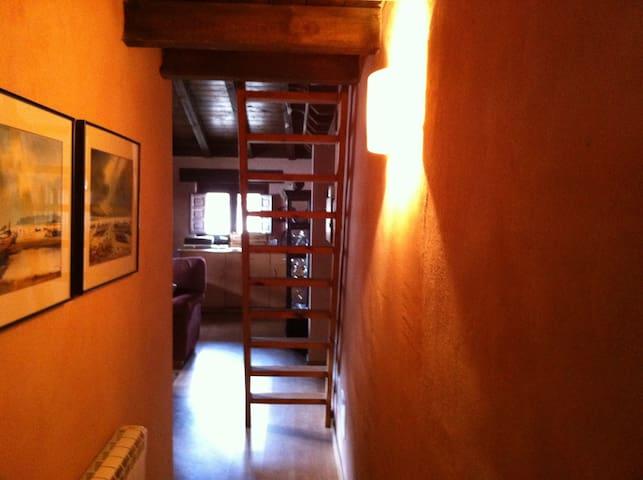 Apartamento rústico en La Rioja - Valgañón - Daire