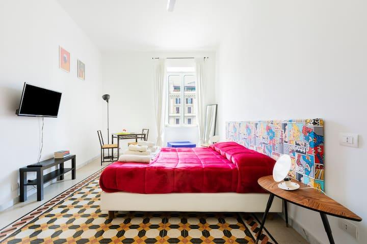 Residenza Arte Rienzo- Great room