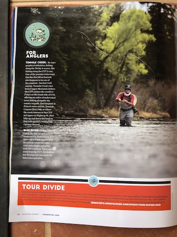 Fishing on Blue River, Ten Mile stream, and Lake Dillon 10 - 15 minutes away Easy bike ride