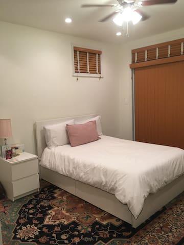 Spacious Georgetown bedroom in renovated townhouse
