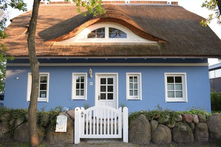 """""""Das blaue Haus am Strand"""" (Sauna) Fischland-Darss"""