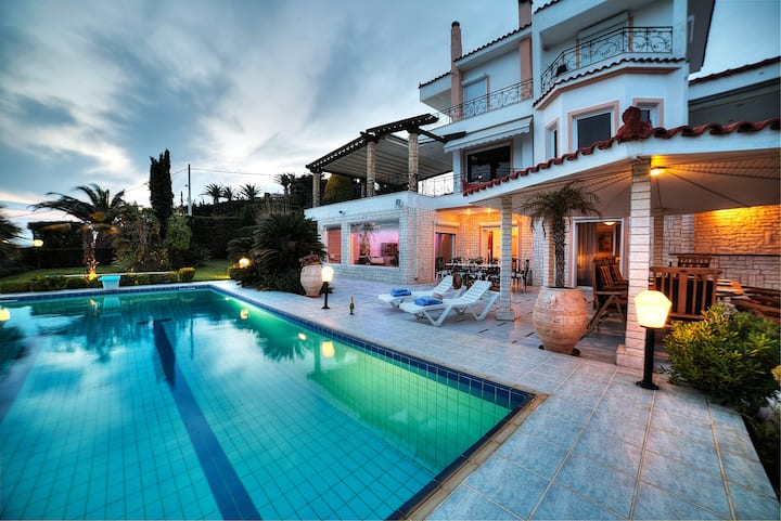 Athens Luxury Villa Saronida Pool