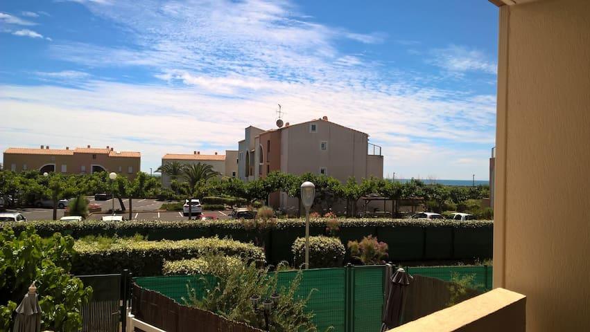 Appartement à 200m de la plage Richelieu Ouest - Agde