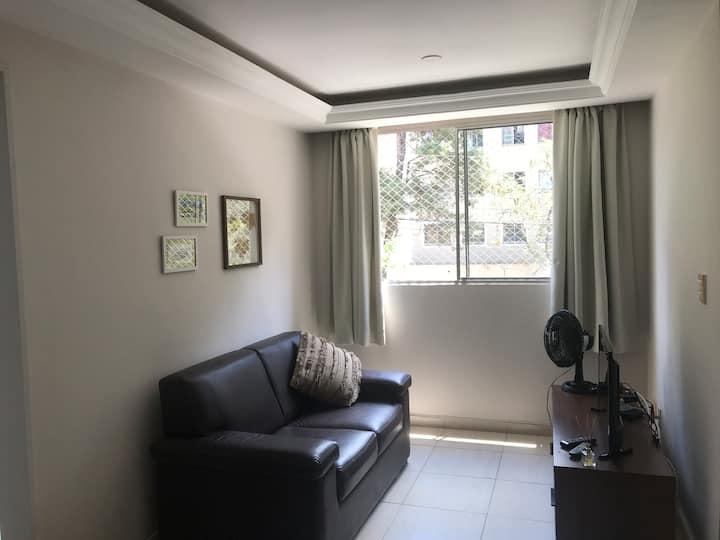 Apartamento 2 dorm próximo ao Estádio Morumbi.Novo