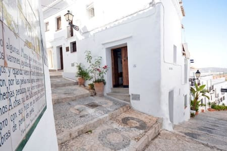 casa authentique dans beau village blanc Andalou - Frigiliana - Casa