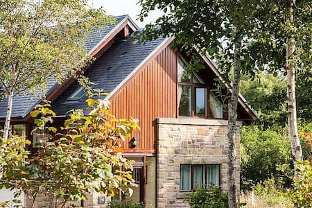 Luxury Lodge on the bonnie banks o' Loch Lomond - Arden - Hytte (i sveitsisk stil)