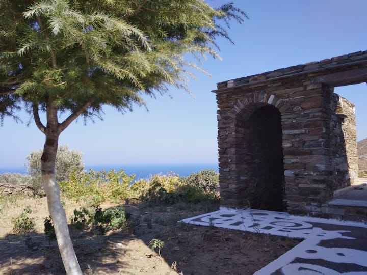 Aegean Vine house with Terrace view