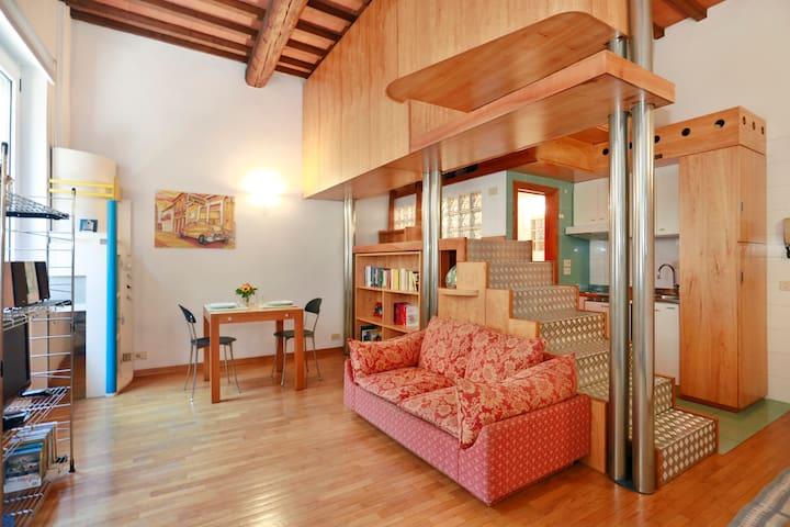 Living room, open space