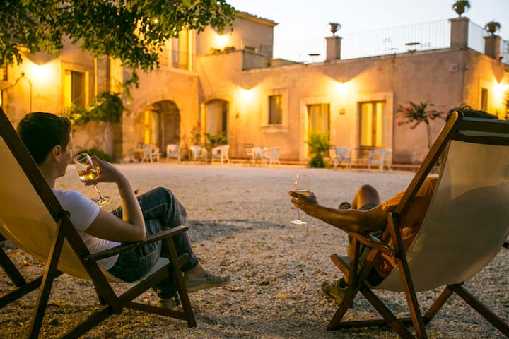 Soggiorno in un'antica masseria siciliana!
