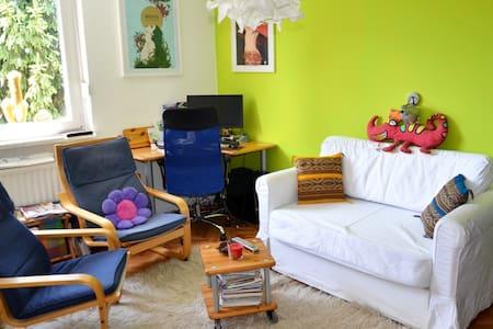 Cozy colorful apartment, free bikes/parking - Ljubljana - Apartemen