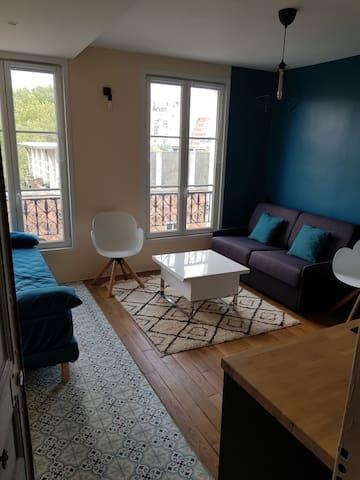 Appartement de charme près de Montmartre