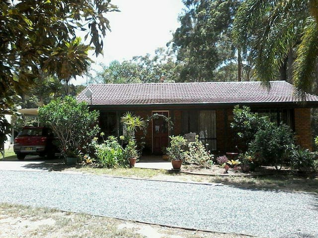 Quiet bush setting, close to beach - Woolgoolga