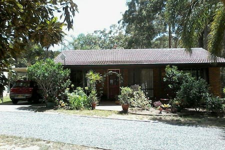 Quiet bush setting, close to beach - Woolgoolga - Rumah