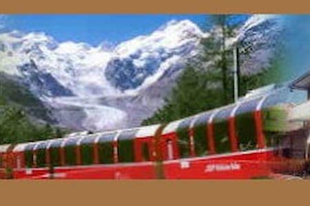 B&B La Sosta Gita col Trenino Rosso del Bernina - Villa di Tirano - Bed & Breakfast