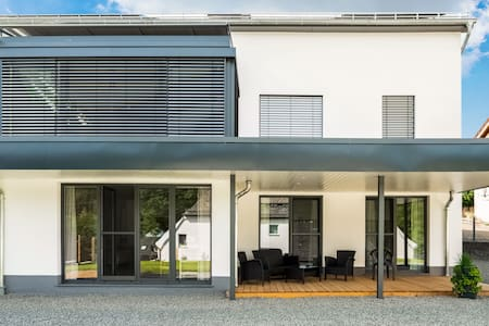 Simplistic Holiday Home in Bleialf with Balcony