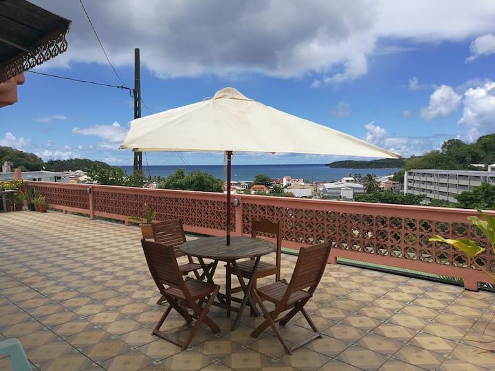 Un séjour avec vue sur baie de la trinité