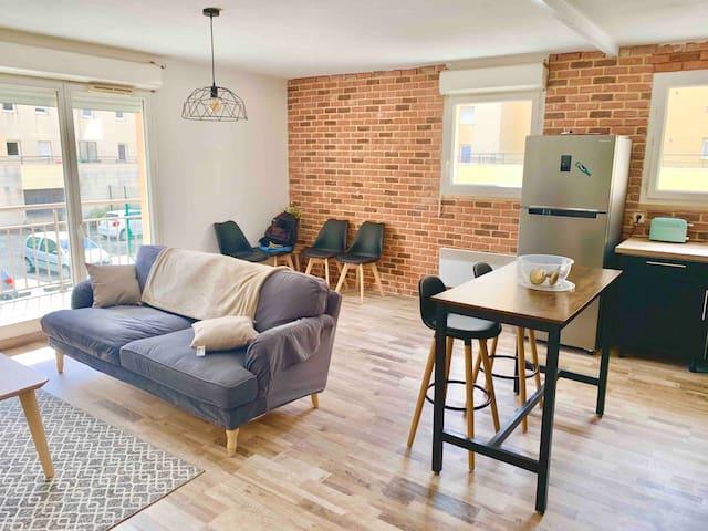 Appartement tout confort près de la gare du Havre