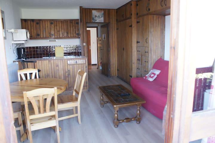 STUDIO 28 M2 à PRA LOUP 1600 - Uvernet-Fours - Lägenhet
